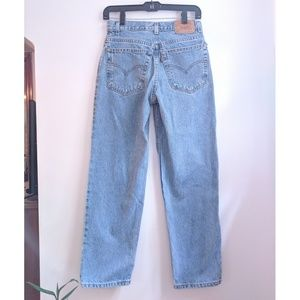 Vintage Levi's 550 Relaxed Fit Mid Rise Mom Jeans